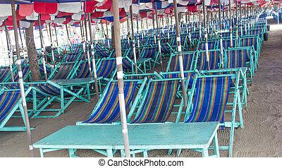 έδρα , παραλία