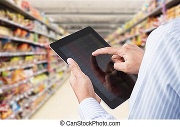 έλεγχος , minimart , απογραφή εμπορευμάτων