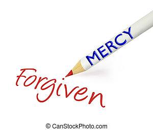 έλεος , forgiven