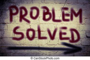 έλυσα , πρόβλημα , γενική ιδέα