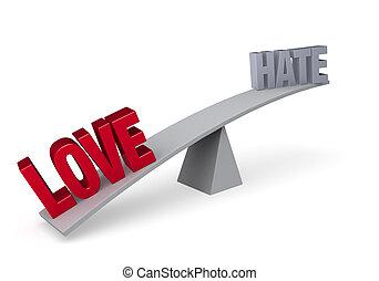 έναντι , αγάπη , wins), μισώ , (love