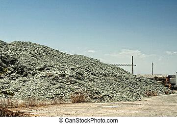 ένα , ενισχύω , από , γυαλί , για , ανακύκλωση