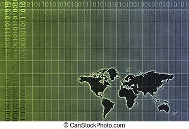 ένα , εταιρικός , δεδομένα , διάγραμμα