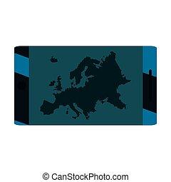 ένωση , cellphone , ευρωπαϊκός , χάρτηs