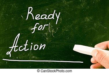 έτοιμος , δράση , γενική ιδέα