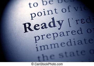 έτοιμος