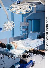 έτοιμος , νοσοκομείο , αρσενικό , ζεύγος ζώων , anesthetists, χειρουργική , γαστρικός , ασθενής