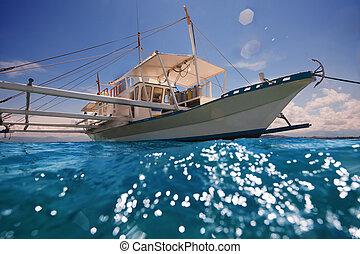 έτοιμος , πλοηγώ , εξωτερικό στήριγμα ακάτου , φιλιππίνος