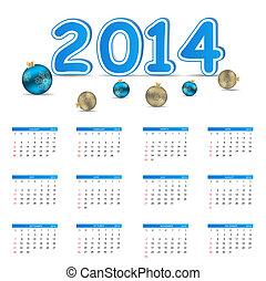 έτος , εικόνα , μικροβιοφορέας , καινούργιος , 2014, ημερολόγιο
