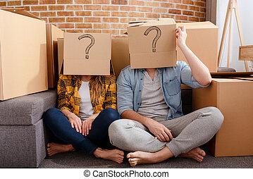 έχει , κίνηση , σύγχυσα , όλα , ζευγάρι , τακτοποιώ , αλλαγή , απάτη , , γενική ιδέα , packages., επιτυχία , μέλλον , question., σύγχυση