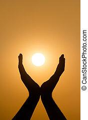 ήλιοs , αμπάρι ανάμιξη