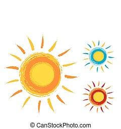 ήλιοs , απεικόνιση