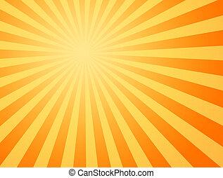 ήλιοs , ζεστός