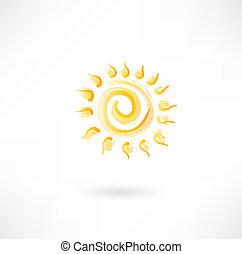ήλιοs , κίτρινο