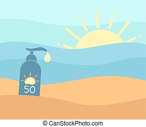 ήλιοs , προστατεύω , καλοκαίρι