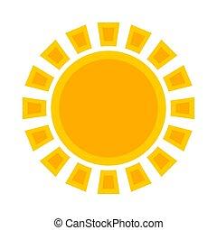 ήλιοs , σύμβολο , ή , εικόνα