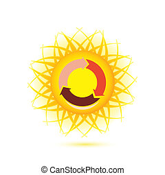 ήλιοs , σύμβολο
