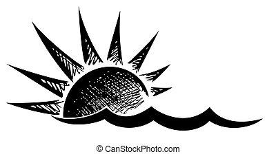 ήλιοs , wave., ο ενσαρκώμενος λόγος του θεού