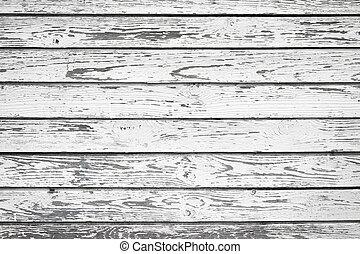 ή , πλοκή , γριά , ξύλο , τοίχοs , - , φόντο , απεικονίζω , άσπρο