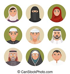 αέναη ή περιοδική επανάληψη , όλα , ζωντανή περιγραφή προσώπου , άντρεs , αιώνας , αραβικός , γυναίκεs