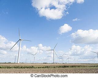 αέρας , turbines.
