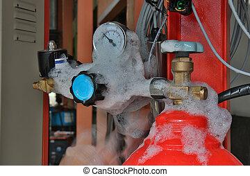 αέριο , ελέγχω , leakage