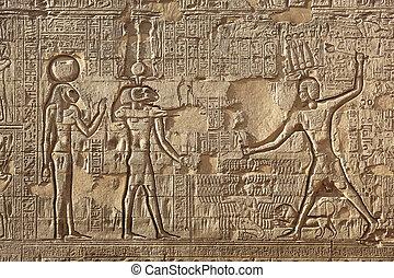 αίγυπτος , esna, κρόταφος