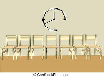 αίθουσα αναμονής , απλό