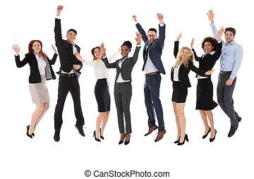 αίρω , businesspeople , ερεθισμένος , δικό τουs , ανάμιξη