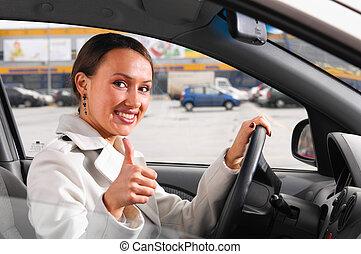 αίσιος γυναίκα , οδηγός