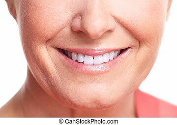 αίσιος γυναίκα , smile.