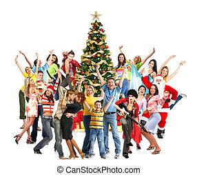 αίσιος διακοπές χριστουγέννων , άνθρωποι