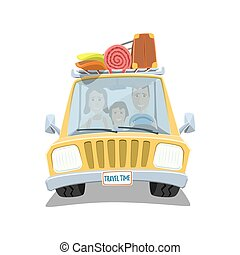 αίσιος ειδών ή πραγμάτων , οδοιπορικός , μέσα , ο , άμαξα αυτοκίνητο.