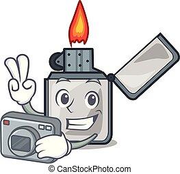 αίτιος πυρκαγιάς , φωτογράφος , γελοιογραφία , απομονωμένος , τσιγάρο