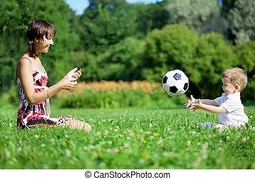 αίτιο και γιος , αναξιόλογος μπάλα , μέσα , ο , park.
