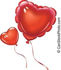 αγάπη αναπτύσσομαι , μπαλόνι