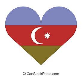 αγάπη αναπτύσσομαι , σημαία , αζερμπαϊτζάν