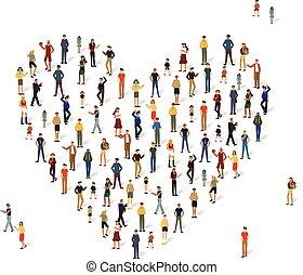 αγάπη αναπτύσσομαι , σύνολο , άνθρωποι