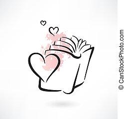 αγάπη , βιβλίο , grunge , εικόνα