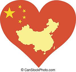 αγάπη , κίνα