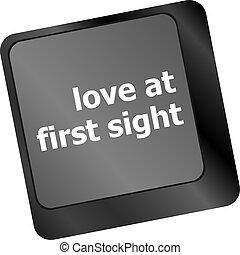 αγάπη , κουμπί , θέα , ηλεκτρονικός εγκέφαλος απάντηση , ...