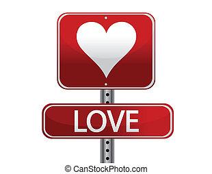 αγάπη , σήμα