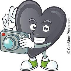 αγάπη , φωτογράφος , μαύρο , γελοιογραφία , κομψός ,...