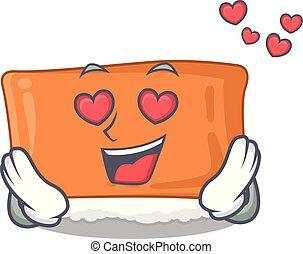 αγάπη , sushi , inari, πίνακας , υπηρέτησα , γελοιογραφία