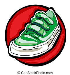 αγίνωτος αγαθός , πάνινα παπούτσια