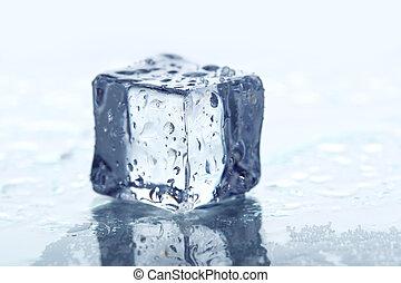 αγαθός ανάγω αριθμό στον κύβο , απομονωμένος , πάγοs