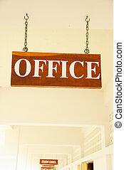 αγαθός φόντο , γραφείο , σήμα