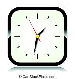 αγαθός φόντο , ρολόι