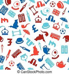 αγγλία , seamless, πρότυπο