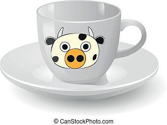 αγελάδα , κύπελο